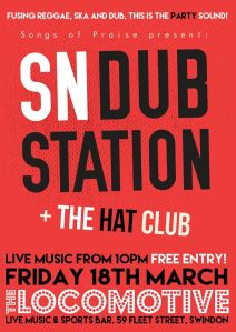 SN DubStation + THe Hat Club @ The Locomotive