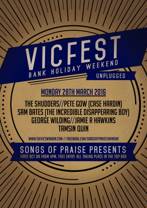 Unplugged VicFest March 16 Vic