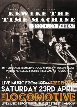Rewire the Time Machine + Brockley Forest