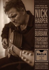 Nick Harper October 16 Baila WEB